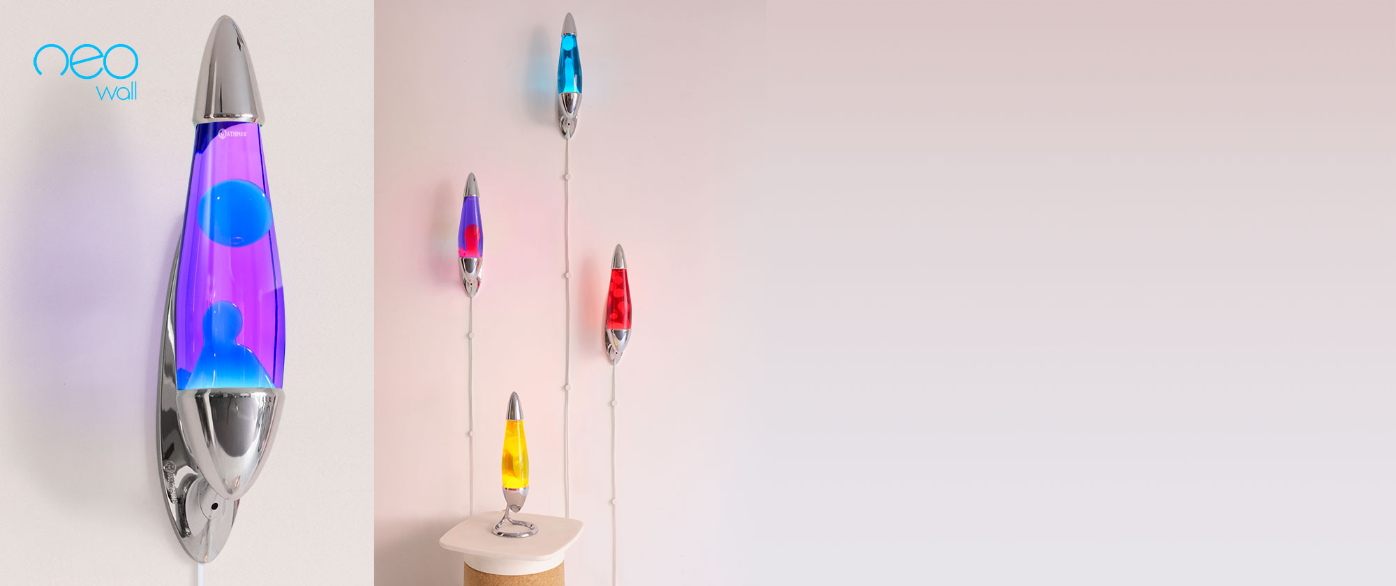 Neo Lavalamp Wall